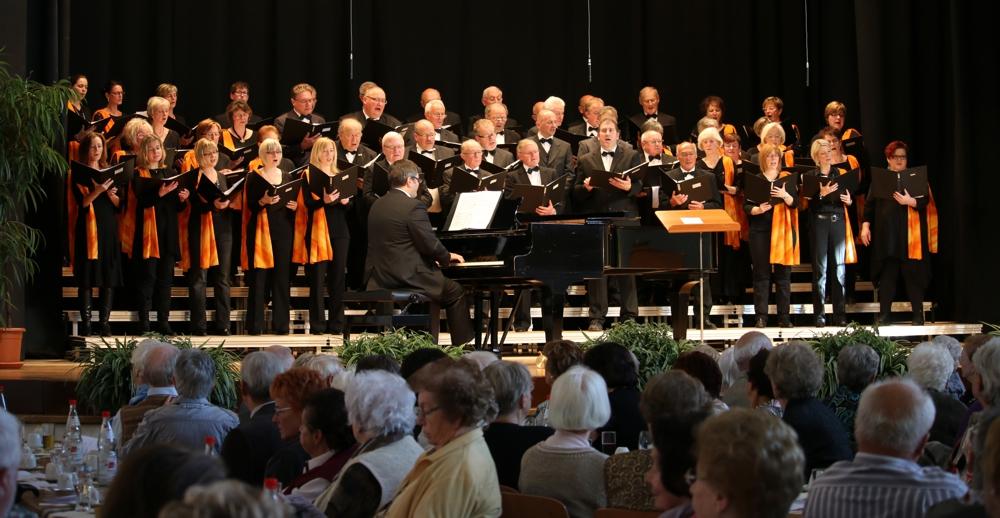 Gemischter Chor der Chorgemeinschaft Windsberg (Foto: Heiko Hauter / Archiv)