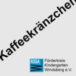 KaffeeKränzchen beim Kindergarten Windsberg