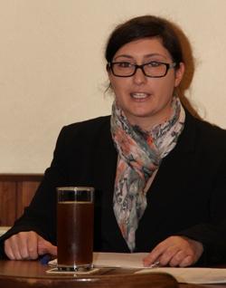 Astrid Bißbort, 1. Vorsitzende
