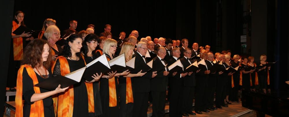 Gemschter Chor der Chorgemeinschaft Windsberg (Foto: Heiko Hauter / Archiv)
