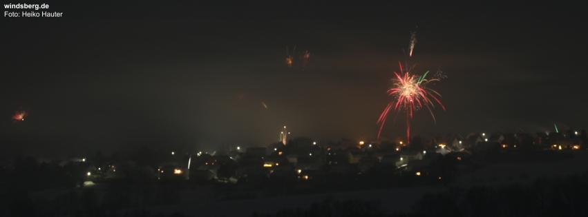 Silvester 2015 vom Langenberg aus.