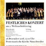Chor Festliches Konzert 2016 (Plakat)