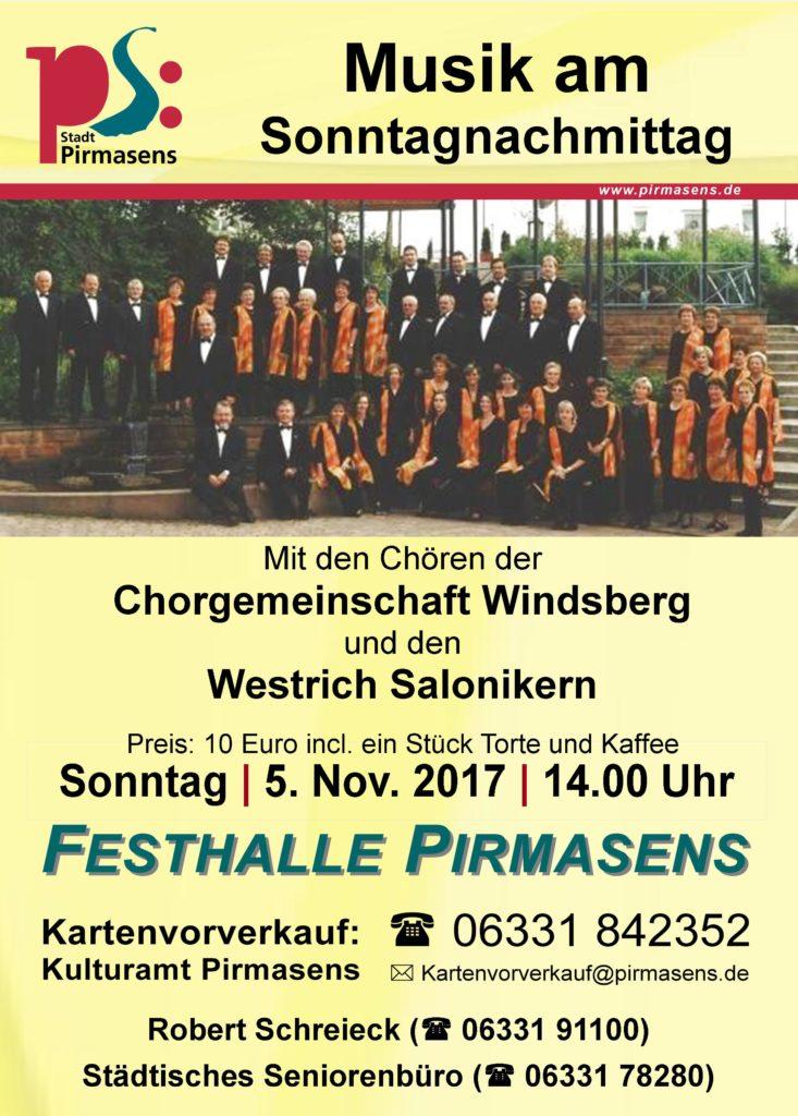 Musik am Sonntagnachmittag 2017