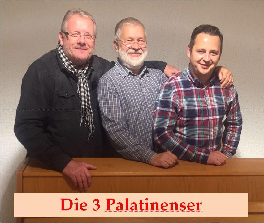 """Die drei regional bekannten """"Palatinenser"""" (Foto: privat)"""